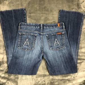 7 For All Mankind A Pockets Jeans size 28